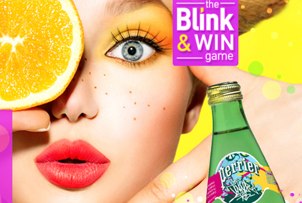 Perrier Blink & Win