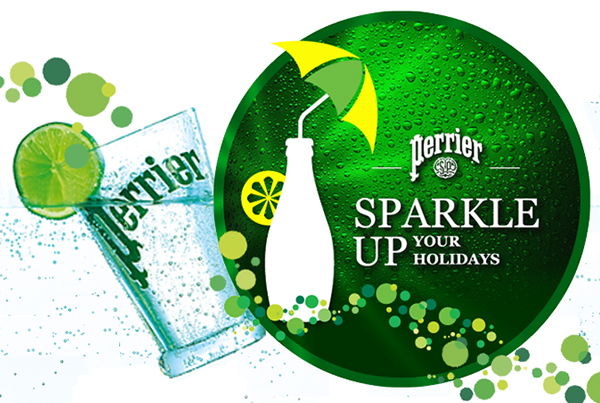 Perrier Sparkle Up your Holidays